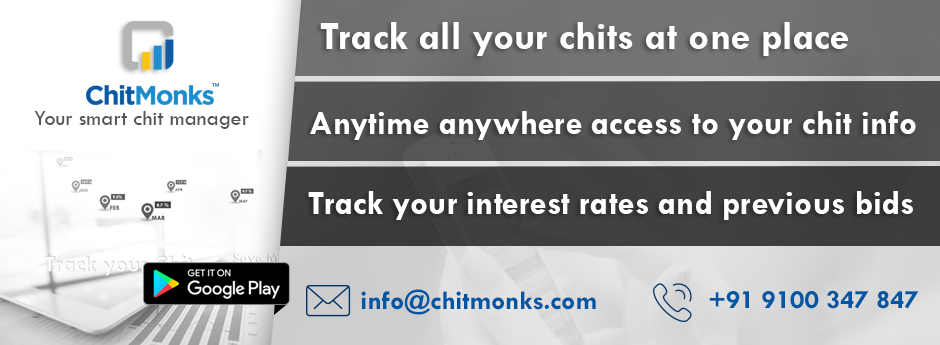 ChitMonks - Your smart chit manager